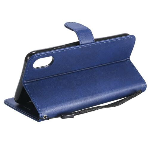 Leather Wallet Case Cover Apple 6 7 8 Plus Card