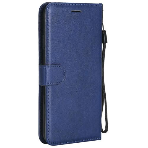 Leather Wallet Flip Cover For 6 7 Xs Max Card Slot