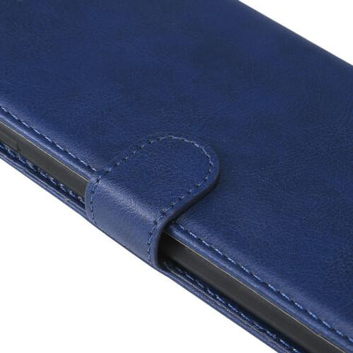 Leather Case Cover For 6 7 8 Xs Card Slot