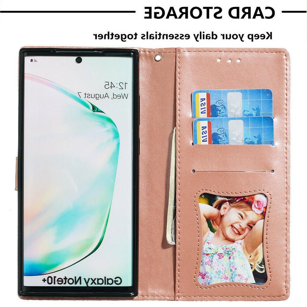 Leather Wallet Samsung Galaxy 10 9 S10 S9 S8 Flip Cover
