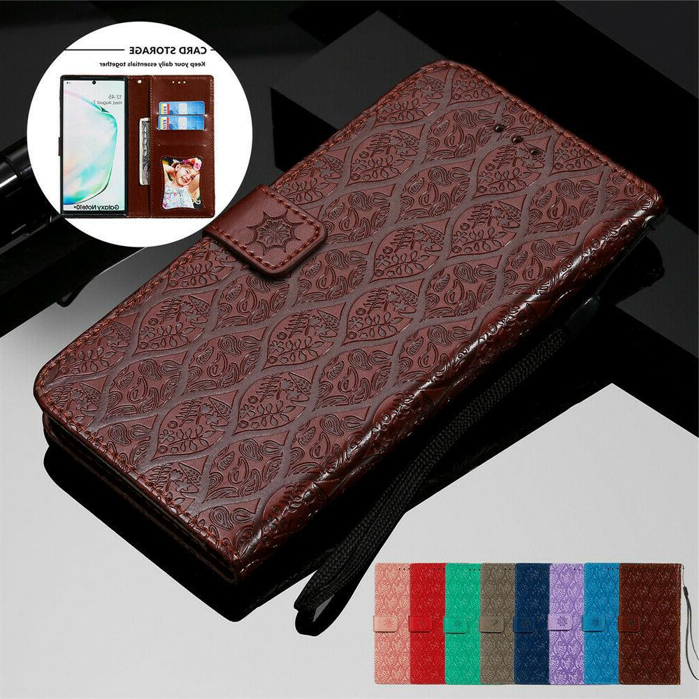Leather Samsung 10 S20 S10 S9 S8 Cover