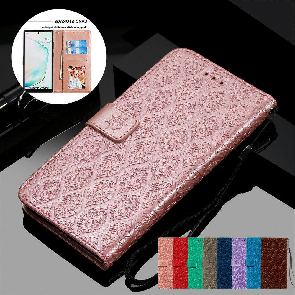 leather wallet case for samsung galaxy note
