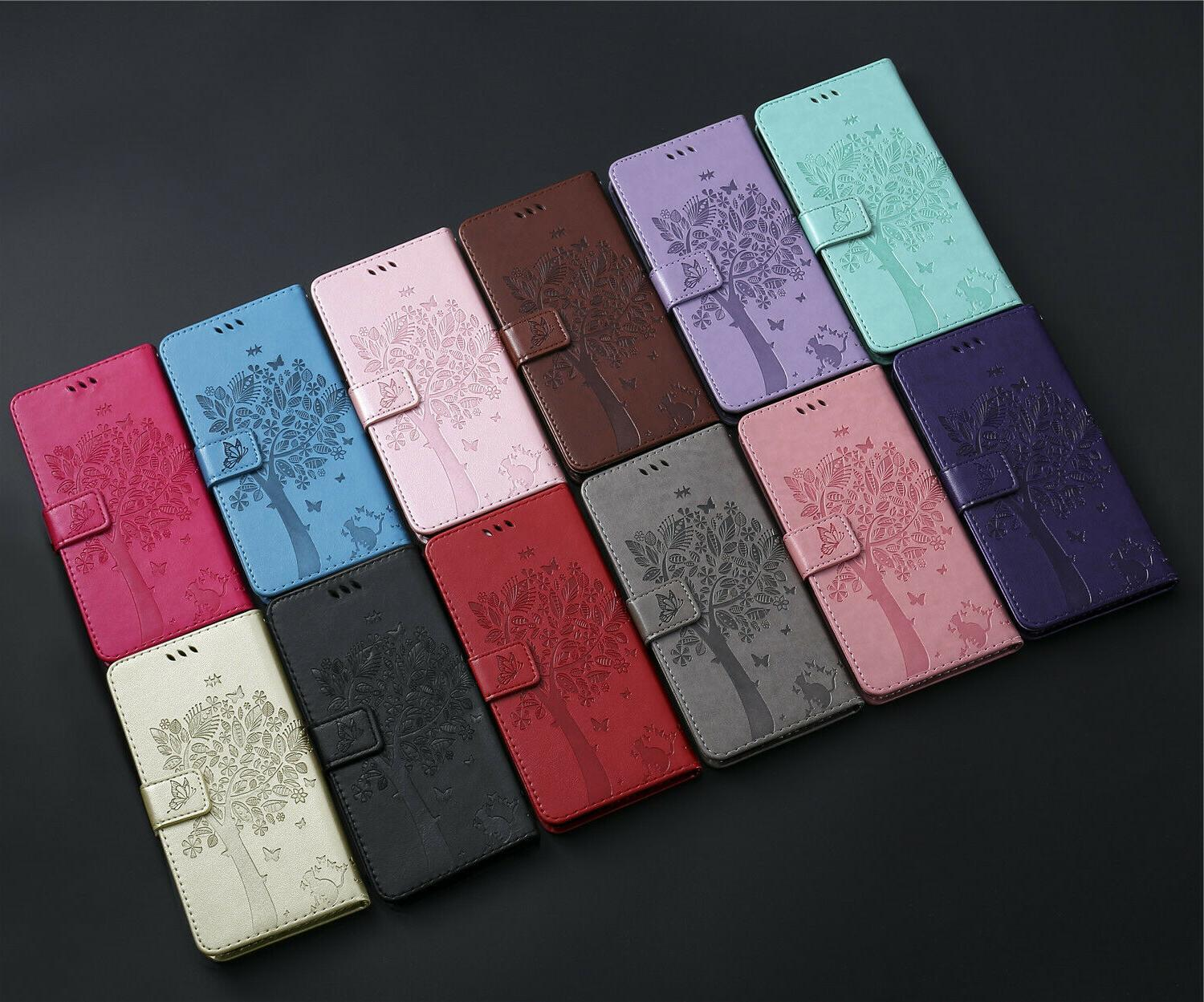 Leather Wallet Samsung S20 Note S8S9 S10 A71