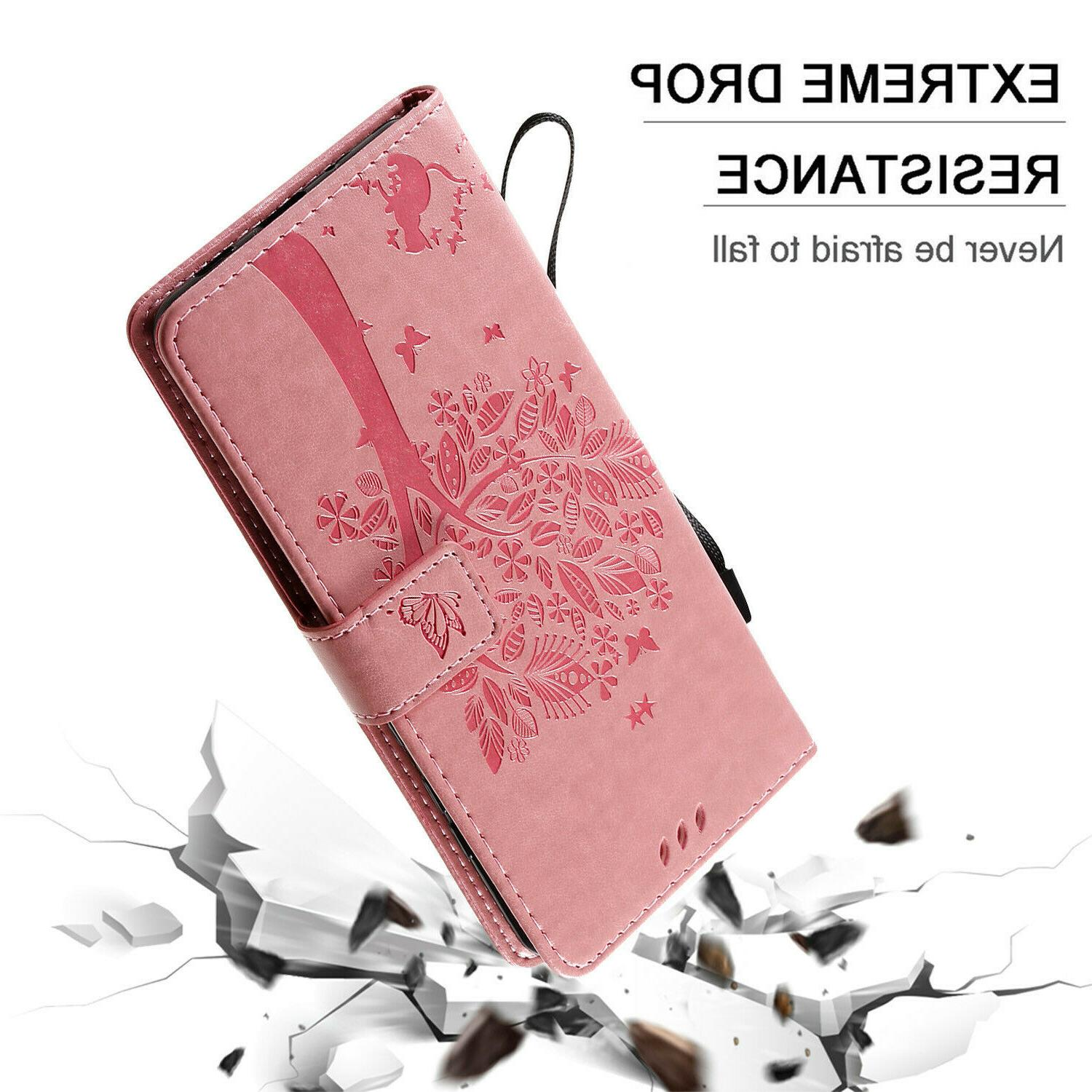 Leather Wallet Samsung Note 8 S8S9 S10 A51 A71