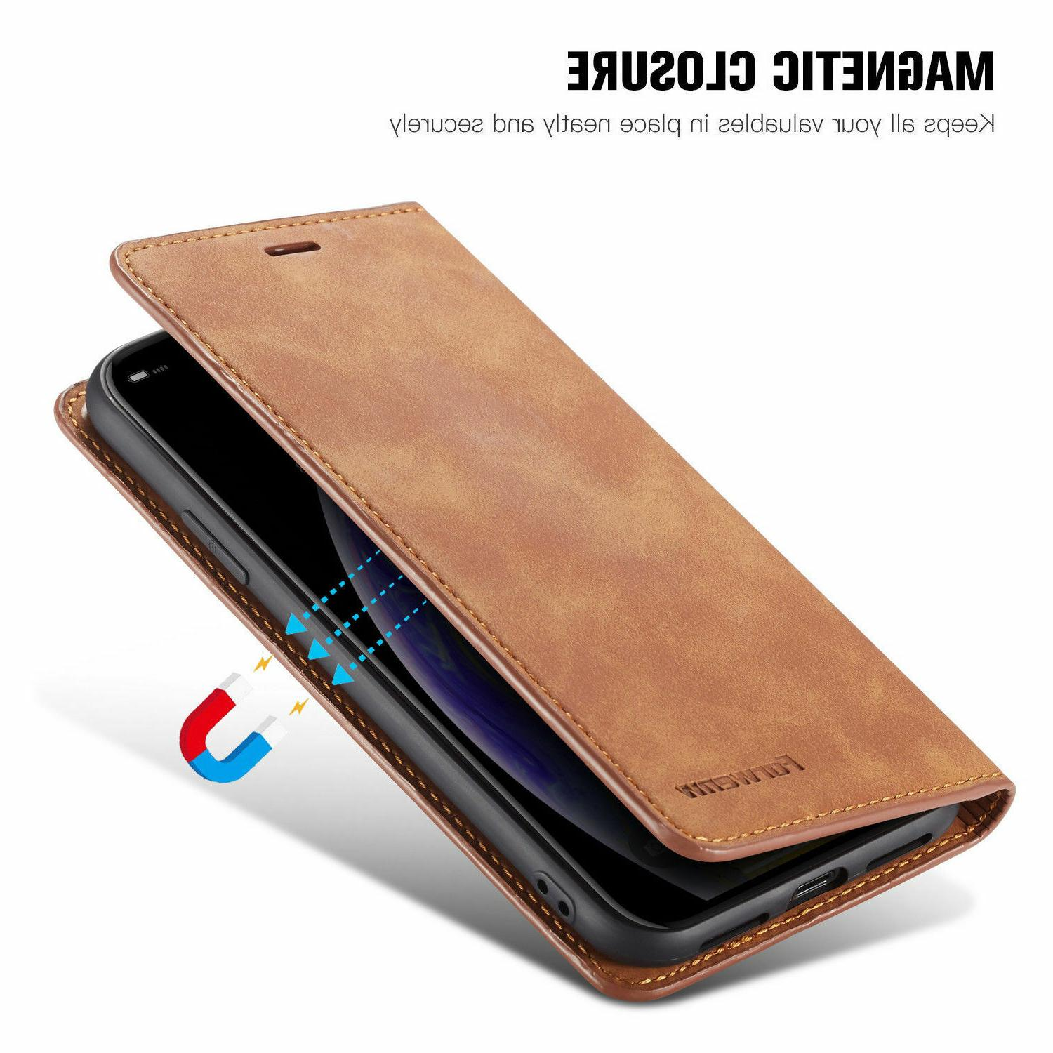 Leather Stand Card Case 11 Pro