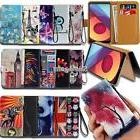 Leather Wallet Stand Magnetic Flip Case Cover For Various LG