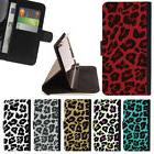 LEOPARD PRINT PATTERN WALLET CASE COVER FOR SAMSUNG GALAXY S