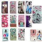 For LG Fortune 2 Leather Wallet Case Pouch Flip Phone Cover