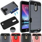 For LG K20 Plus/K20 V/Harmony Shockproof Case Cover With Car