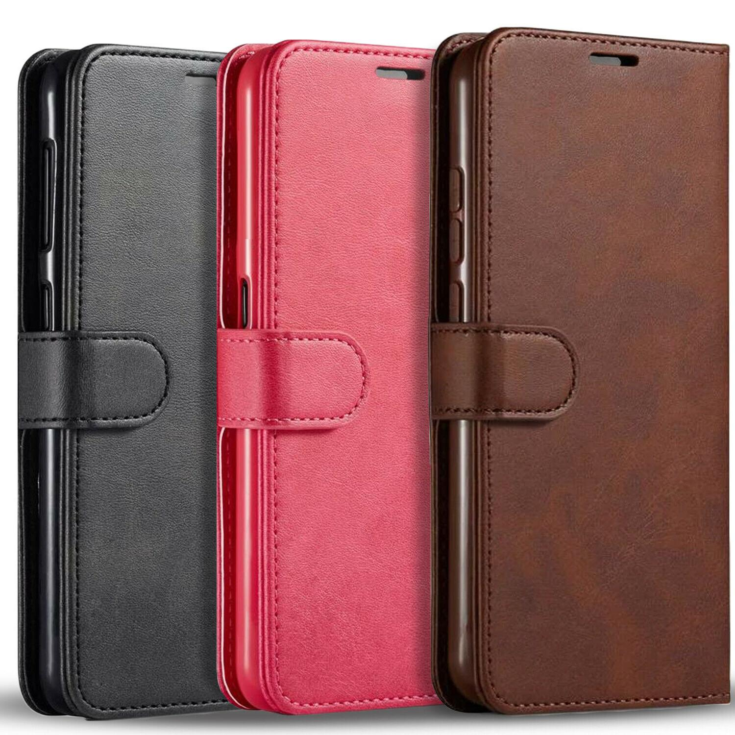 samsung galaxy a21 case premium leather