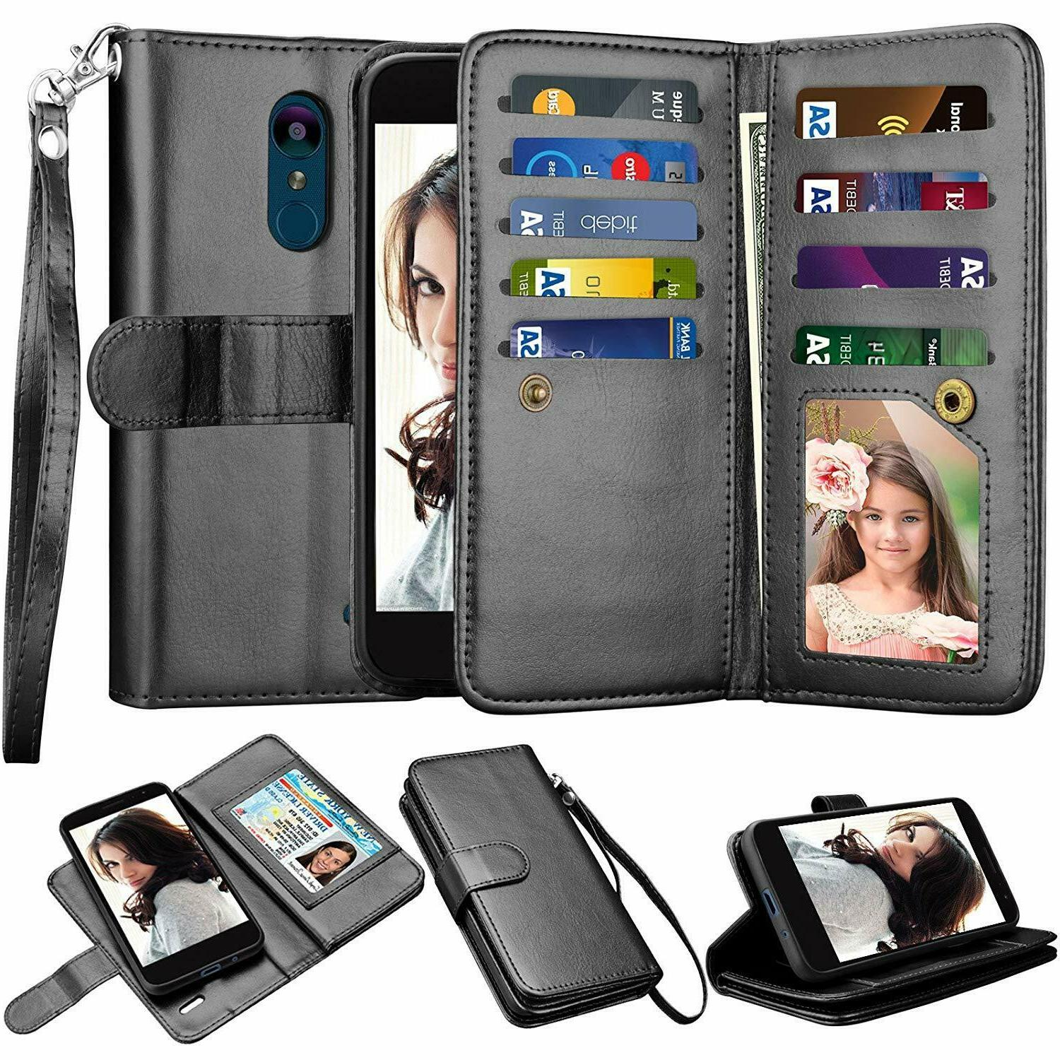 For 4 LTE/Fortune Case Flip Leather Card Cover