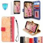For LG Stylo 3 / Stylus 3 Case PU Leather Card Wallet Flip C