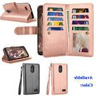 For LG Stylo 3/Stylus 3/Stylus 3 Plus/LS777 Bling Leather Wa