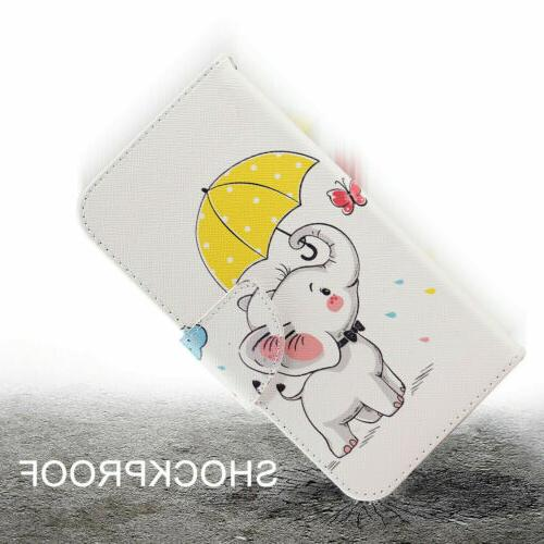 For Stylo 4 Phone Case Stand Card