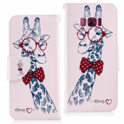 Case For Samsung Note 8 5 Flip Leather Phone 360