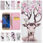Luxury Flip Leather Wallet Card Stand Case Cover For Samsung