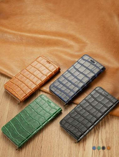 Luxury Leather Flip Phone Card Stand Case Cover For 7/8/XR/XS Max