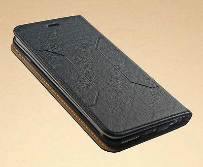 Luxury Leather Magnetic Flip Wallet Case For iPhone 6 Plus