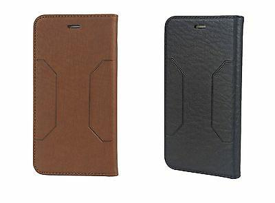 luxury leather magnetic flip wallet case cover