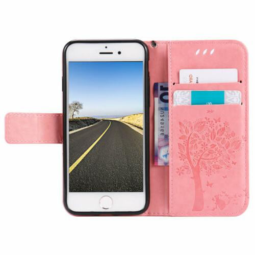 Luxury Wallet Card Holder Phone For iPhone 7
