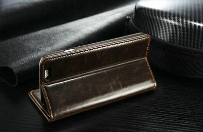 Luxury Leather Magnetic Stand For 6S