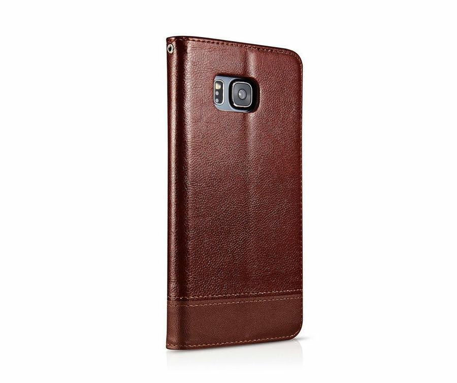 MaxGear® Luxury Leather Flip with Stand Samsung Phone Cases