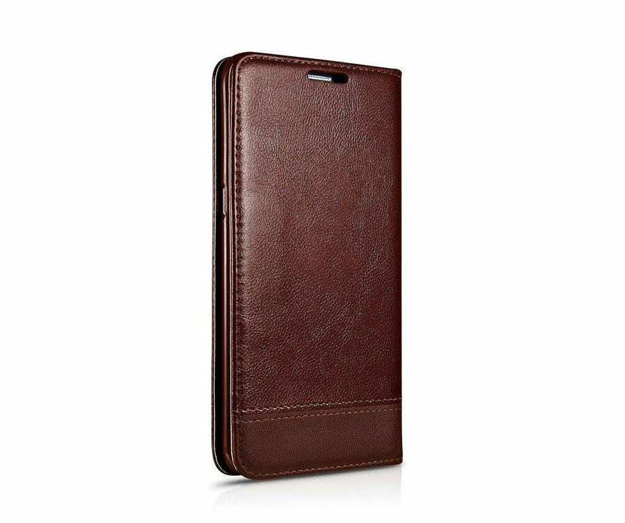 MaxGear® Luxury Leather Wallet Flip Samsung S7 Edge Cases