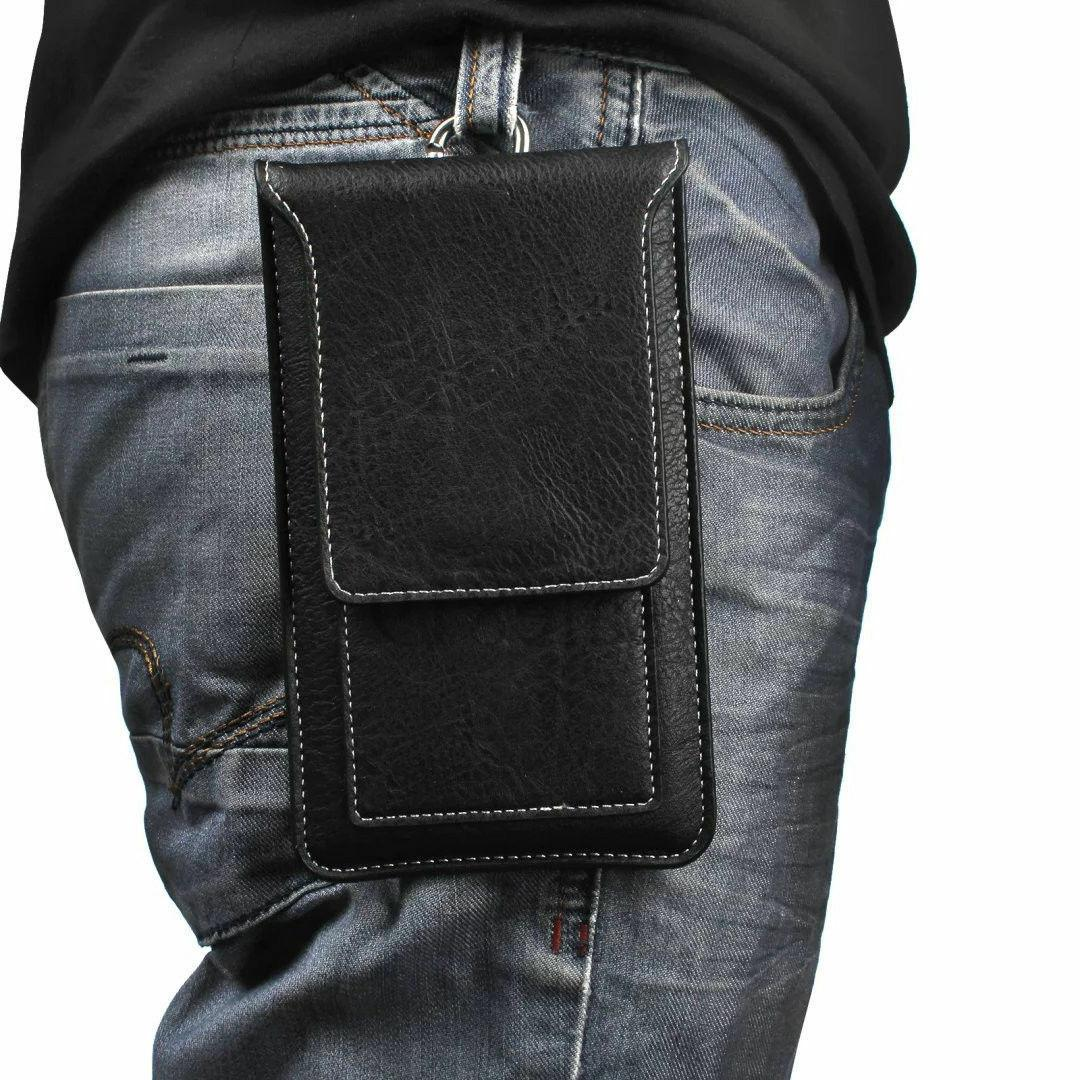 Luxury PU Leather Wallet Pouch Card Holster