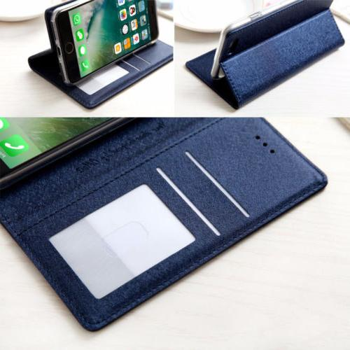 Luxury Leather Stand Cover For 8 &6S