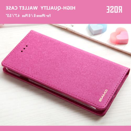 Luxury Silk Leather Cover For 8 7