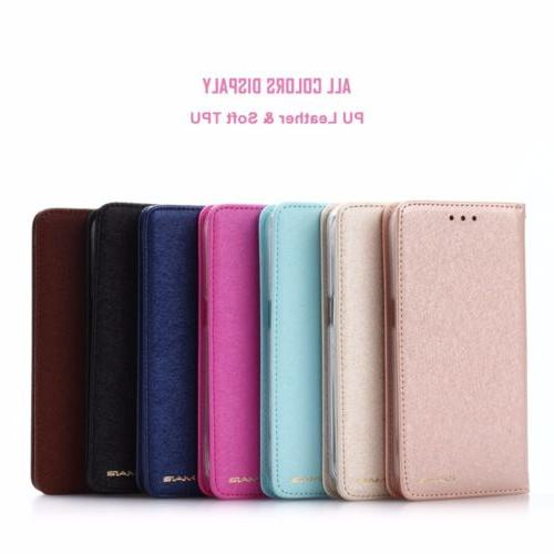 Luxury Wallet Flip SLIM Cover For Max X 6
