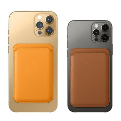 Mag Leather Card Holder iPhone 12 Pro Max 12 Case
