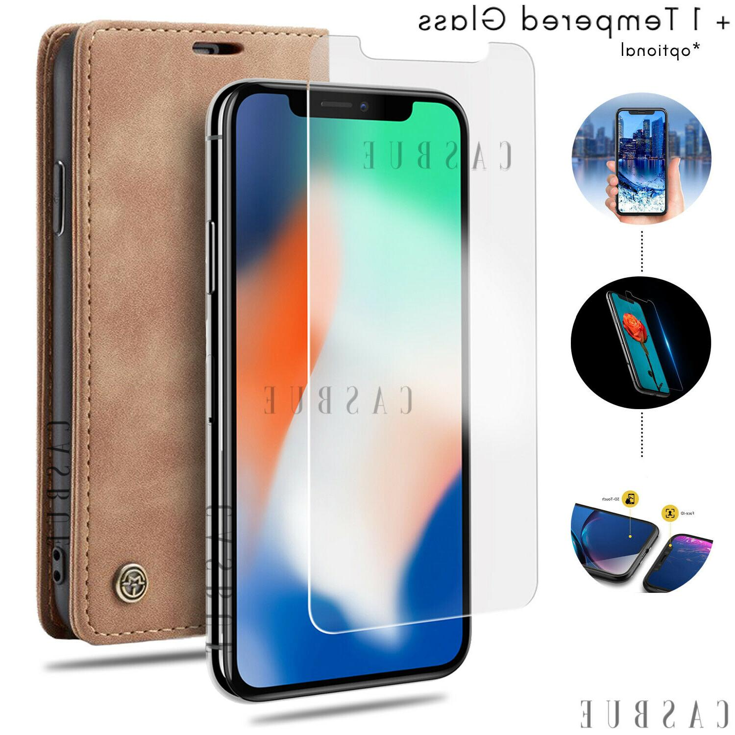 Magnetic Leather Wallet Case Silicone Phone For 11 Max