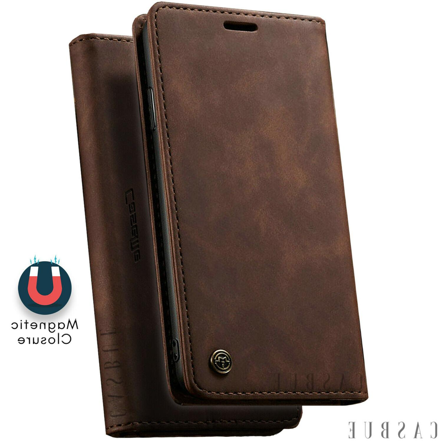 Magnetic Leather For iPhone Pro Max