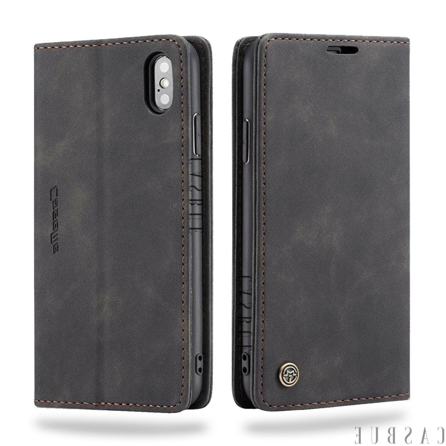 Magnetic Closure Leather Case Silicone Phone For 11 Max