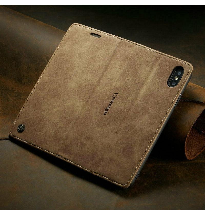 MAGNETIC FLIP COVER Wallet iPhone MAX/8/7/6 Plus