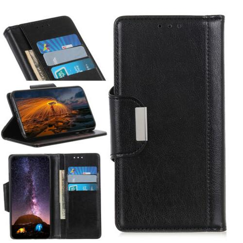 Magnetic Leather Wallet Phone Case Cover Samsung Galaxy S10 Note