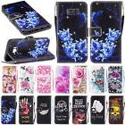 Magnetic Pattern Leather Wallet Case Stand Cover For Samsung