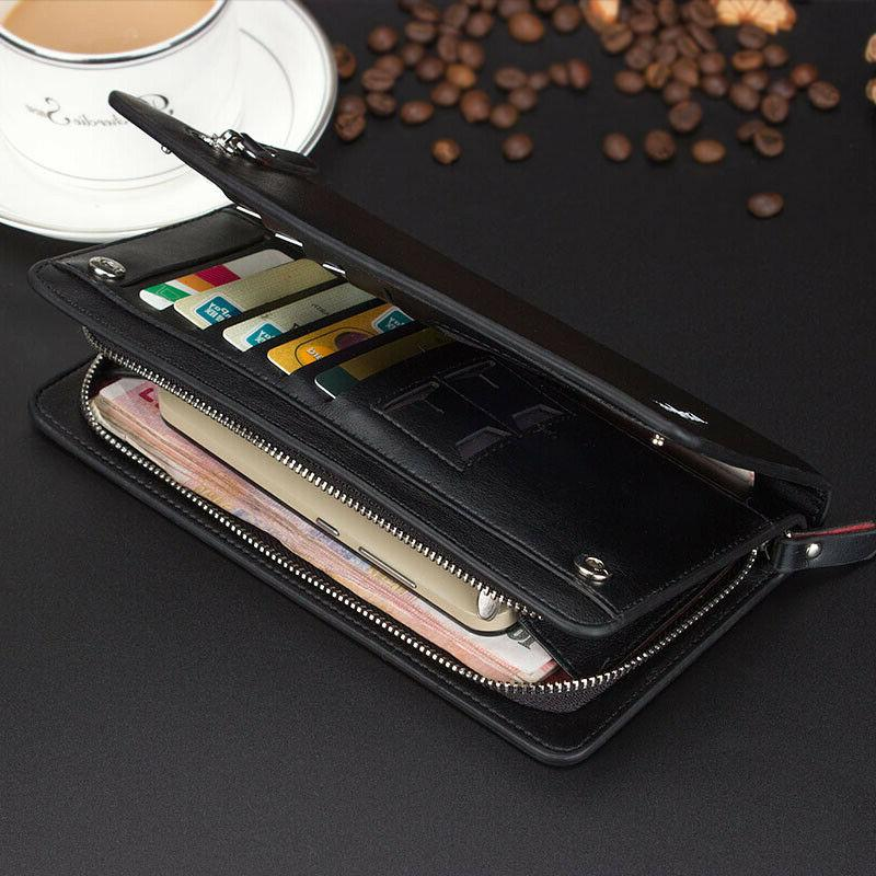 Clutch Long Wallet Card Holder Case Purse Handbag