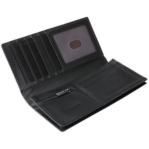 Men's Fashion Bifold Card Holder Clutch US