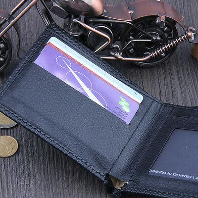 Men's Business Wallet Credit Card Holder