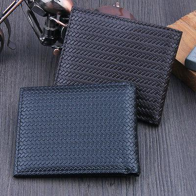 Men's Business Wallet ID Holder Case Purse Pockets