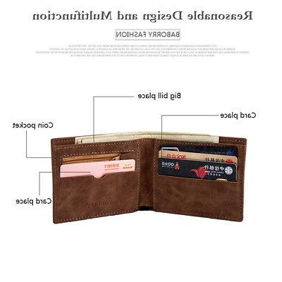 Men's Genuine Coin Card Mens Wallets