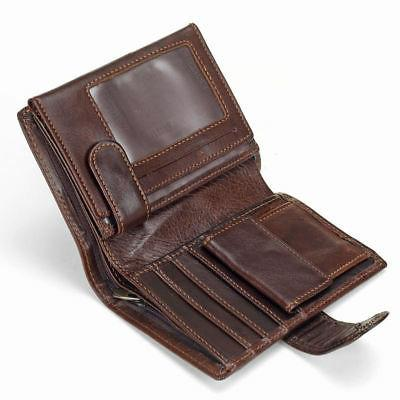 men s genuine leather wallet coin purse