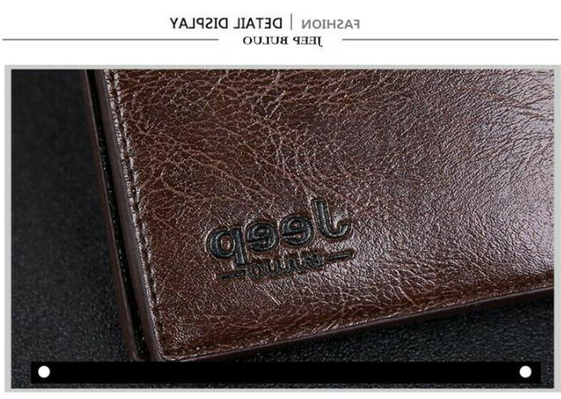 Clips Leather Wallets For Fashion Case