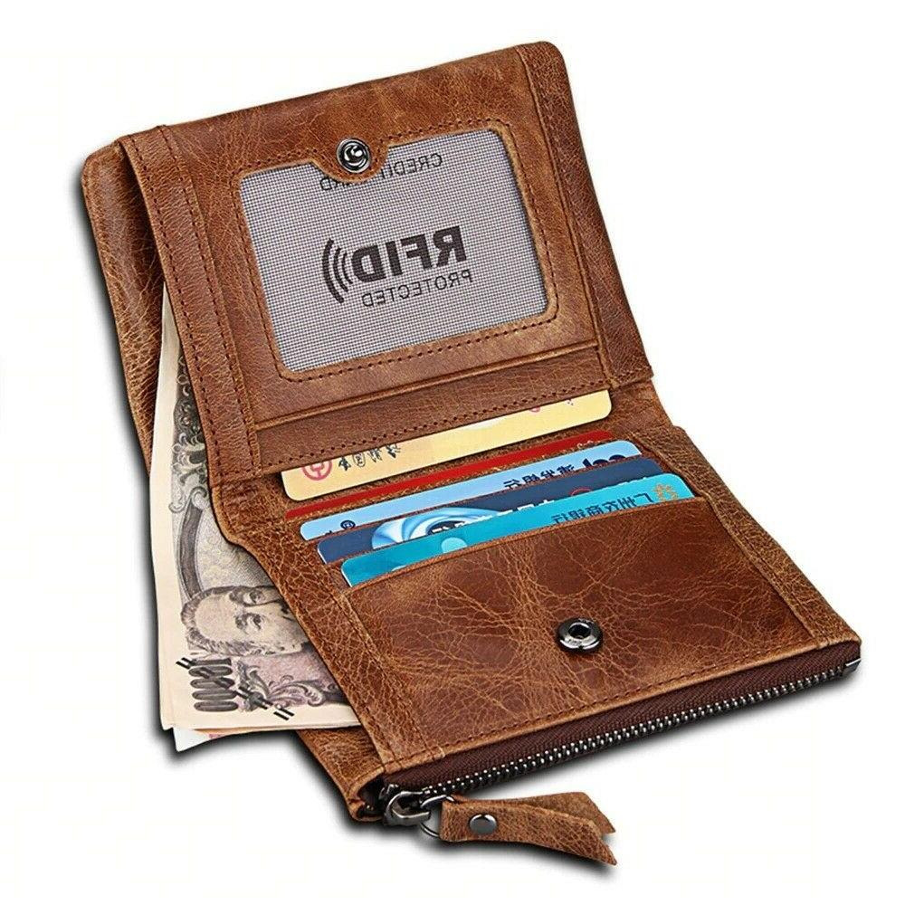 Men Wallet Standard Coin Holder