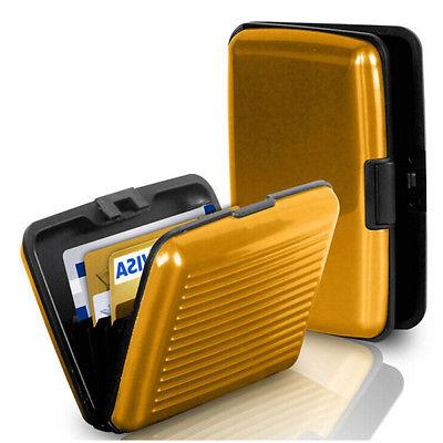 Mens Credit Holder RFID Protector Wallet Card Case
