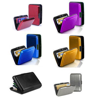 Mens ID Protector Wallet Card Case