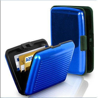 Mens Credit Protector Clip Card Case