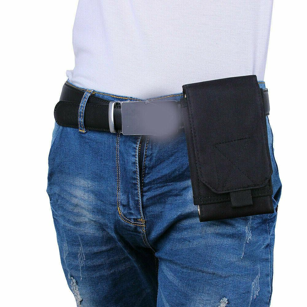Mens Cell Phone Pouch Waist Purse Case